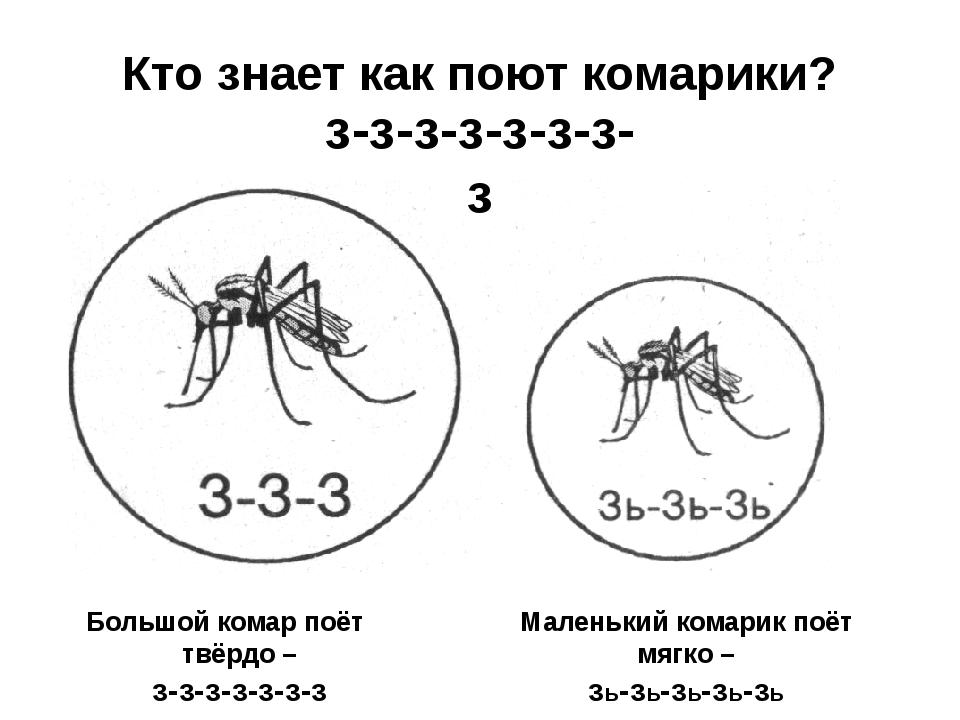 Кто знает как поют комарики?