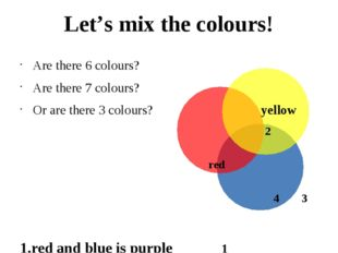 Are there 6 colours? Are there 7 colours? Or are there 3 colours? yellow 2 r