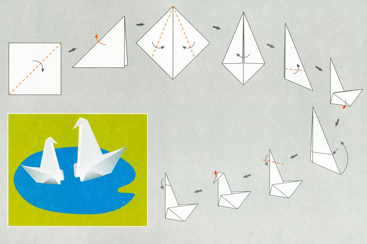 Оригами рекомендуемые поделки для детей 5-6 лет