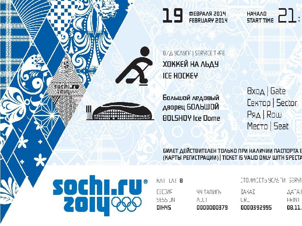Интересные факты: Зеркальная схожесть «Sochi» и «2014″ подчеркивает климатиче...