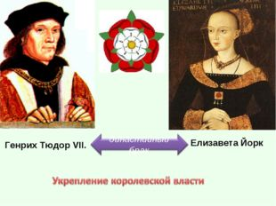 Генрих Тюдор VII. Елизавета Йорк