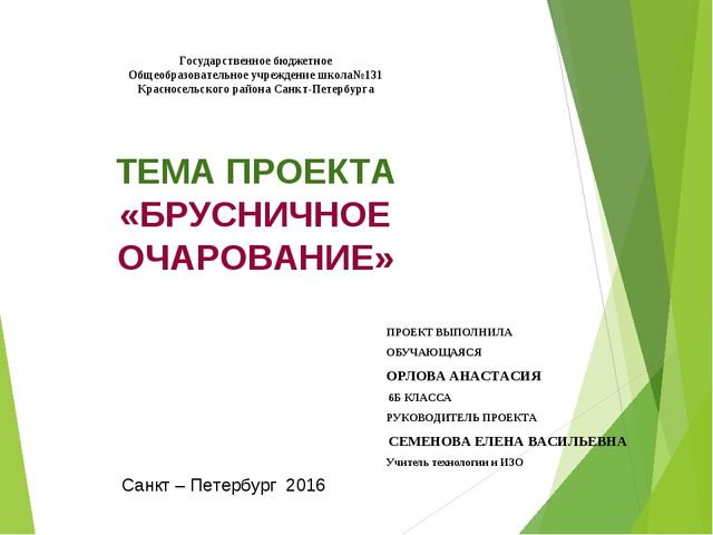 Государственное бюджетное Общеобразовательное учреждение школа№131 Красносел...