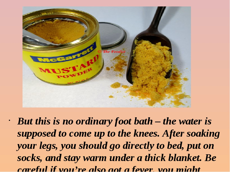 But this is no ordinary foot bath – the water is supposed to come up to the k...