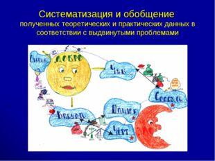 Систематизация и обобщение полученных теоретических и практических данных в с