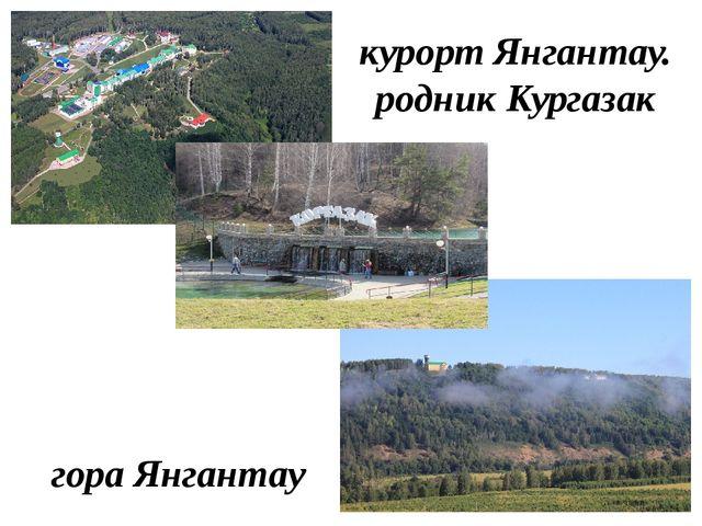 курорт Янгантау. родник Кургазак гора Янгантау