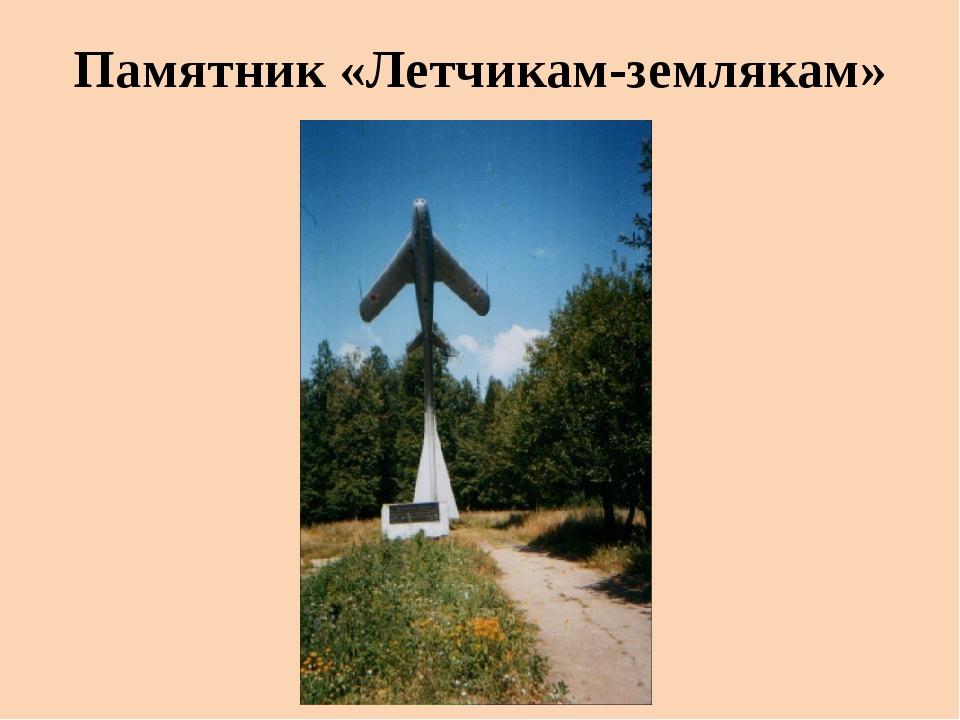 Памятник «Летчикам-землякам»
