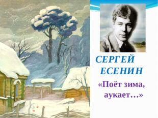 СЕРГЕЙ ЕСЕНИН «Поёт зима, аукает…»