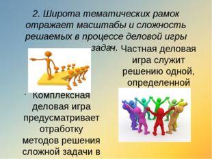 4. В зависимости от степени неопределенности ситуации деловые игры подразделя