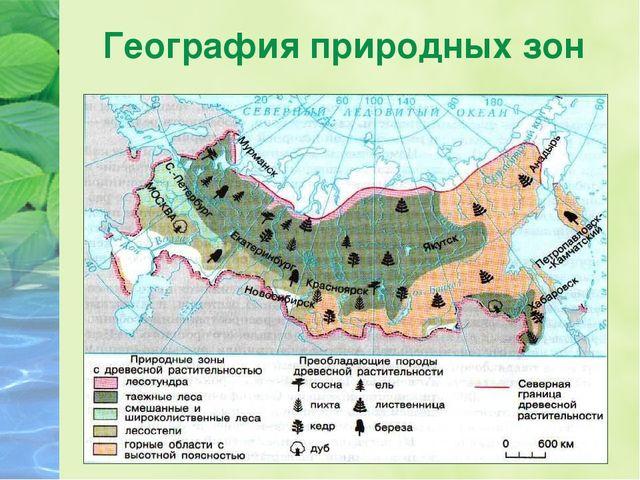География природных зон
