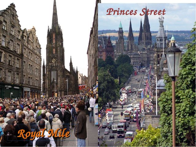 Princes Street Royal Mile