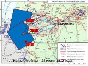 Вторжение французских войск в Россию Полководцы 1-й Западной армией командова