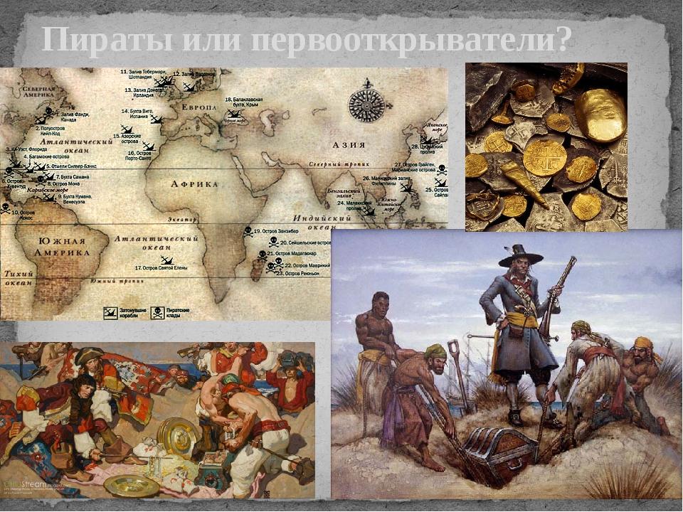 Пираты или первооткрыватели?