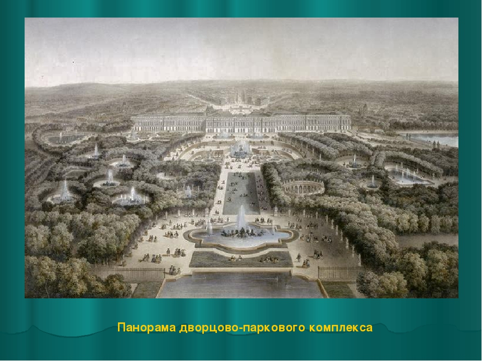 Панорама дворцово-паркового комплекса