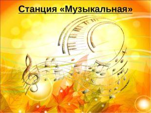 Станция «Музыкальная»