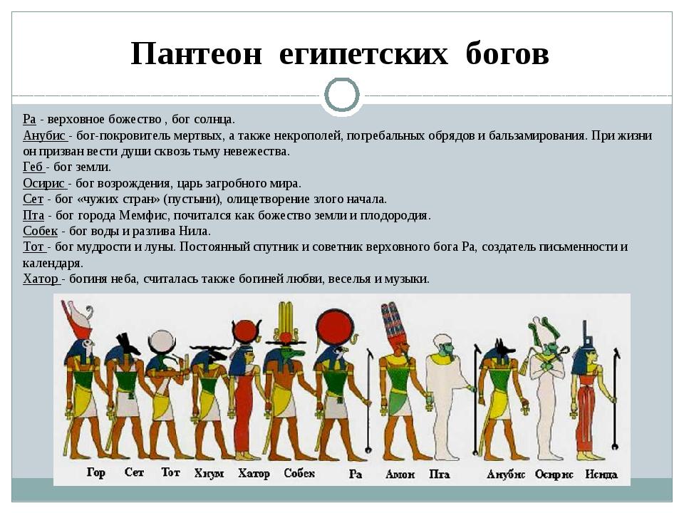 все боги египта фото вам, вдруг, всё