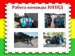 Работа команды ЮПИД