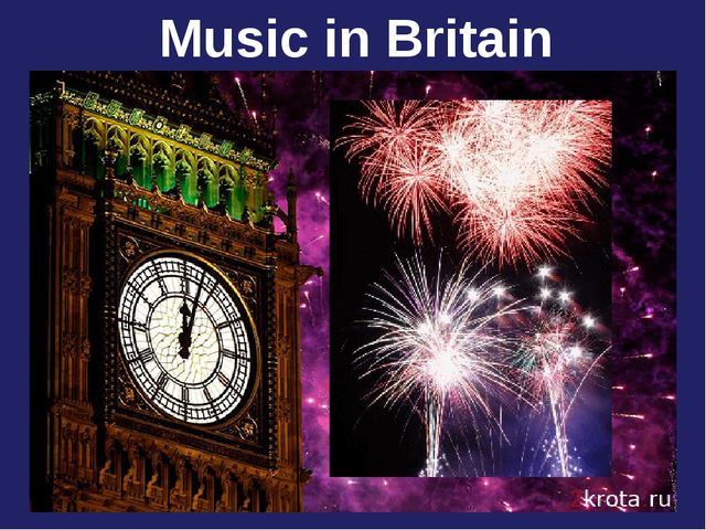 Music in Britain
