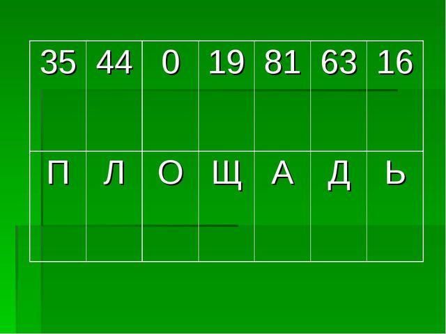 3544019816316 ПЛОЩАДЬ