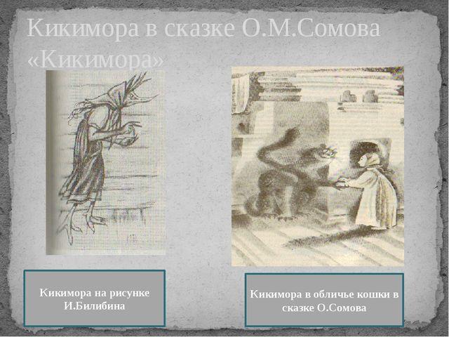 Кикимора в сказке О.М.Сомова «Кикимора» Кикимора на рисунке И.Билибина Кикимо...