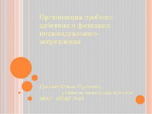 Организация пробного действия и фиксации индивидуального затруднения Грачёва