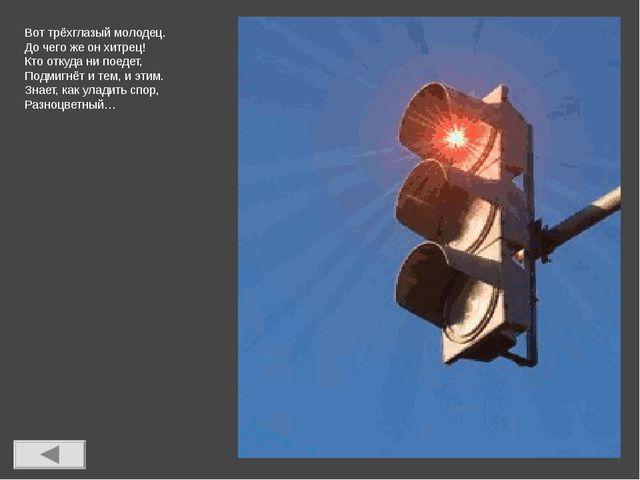 Какой свет нам говорит: «Вы постойте – путь закрыт!»