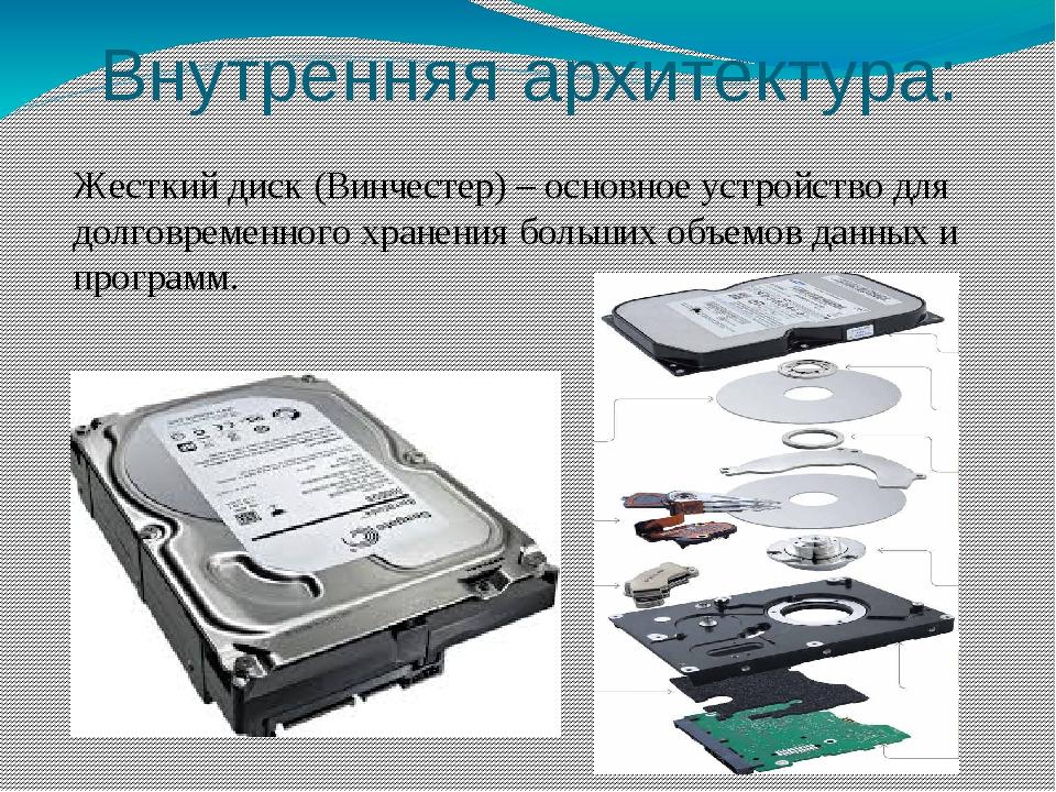 Внутренняя архитектура: Звуковая карта(звуковаяплата, аудиокарта;)— дополн...
