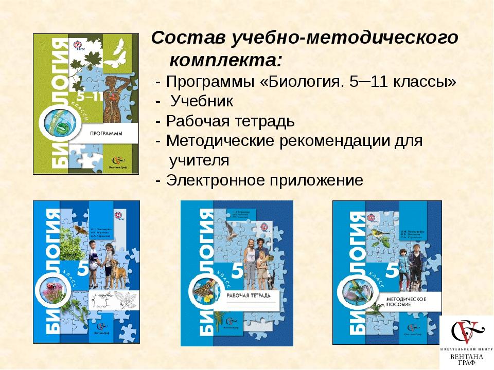 Концентрический курс 5 класс (Пономарева И.Н. и др.) Глава 1. Биология – наук...