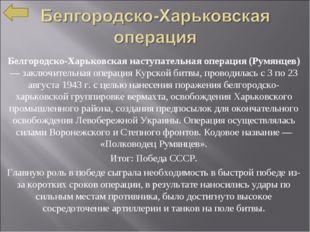 Белгородско-Харьковская наступательная операция (Румянцев) — заключительная о