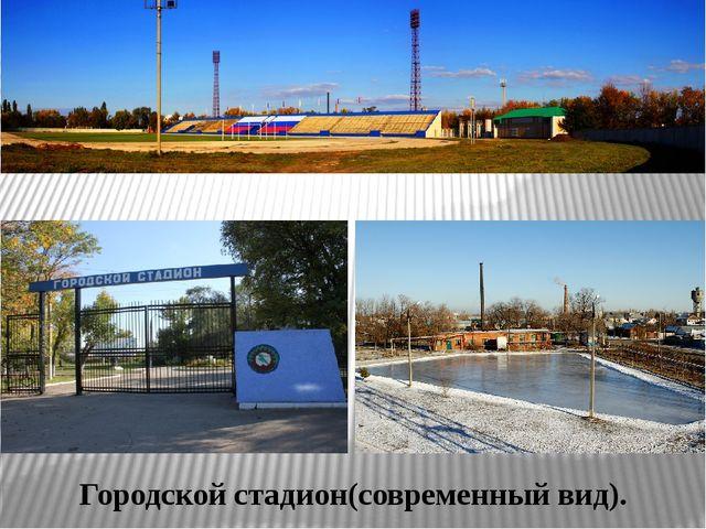 Городской стадион(современный вид).