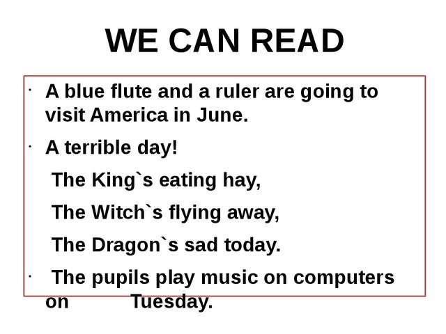 A blue flute and a ruler are going to visit America in June. A terrible day!...