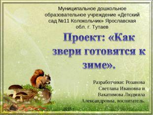 Разработчики: Розанова Светлана Ивановна и Вакатимова Людмила Александровна,