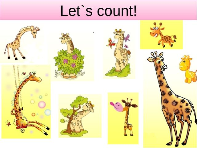 Let`s count!