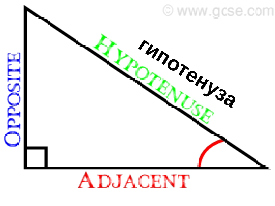 гипотенуза