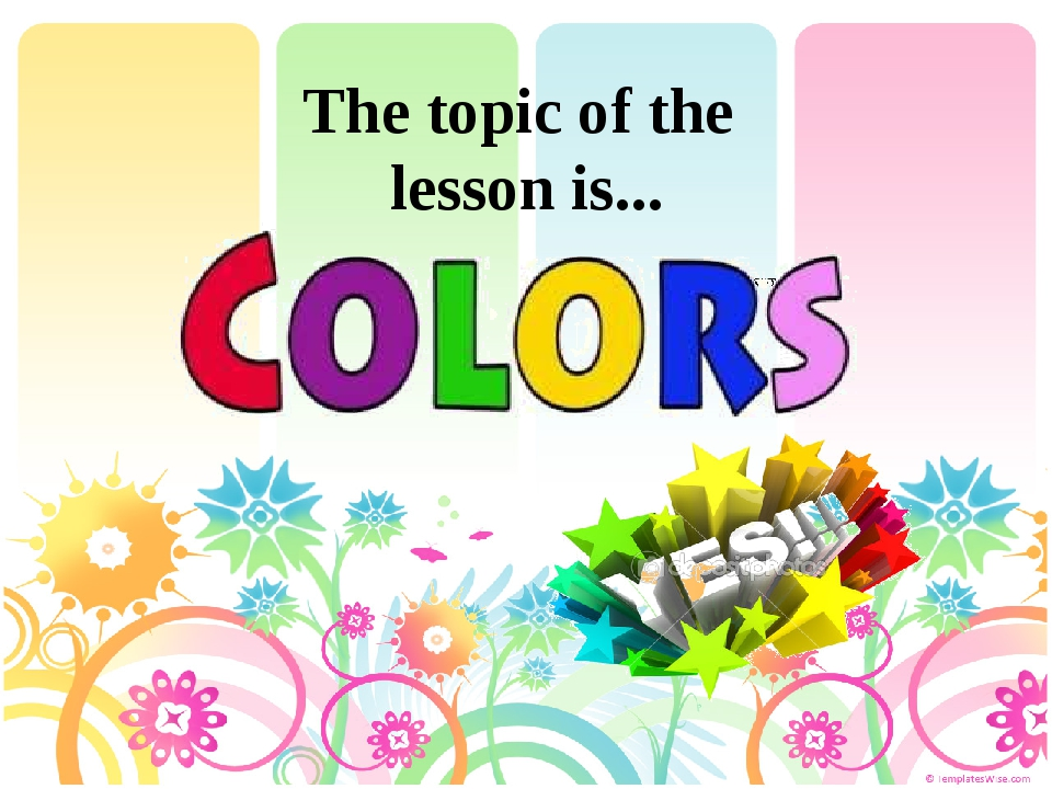 The topic of the lesson is... VIDEO_TS\VTS_02_0.IFO