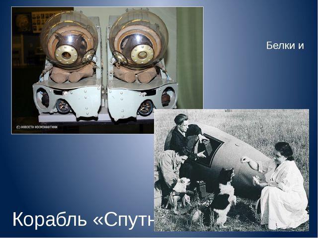 Скафандр Белки и Стрелки Корабль «Спутник-5»