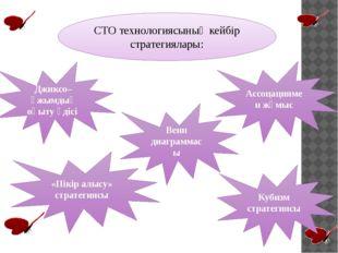 СТО технологиясының кейбір стратегиялары: Джиксо– ұжымдық оқыту әдісі Ассоцац