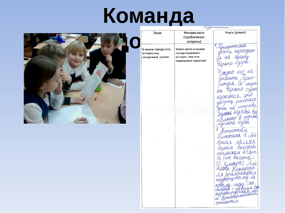 Команда «Художники»