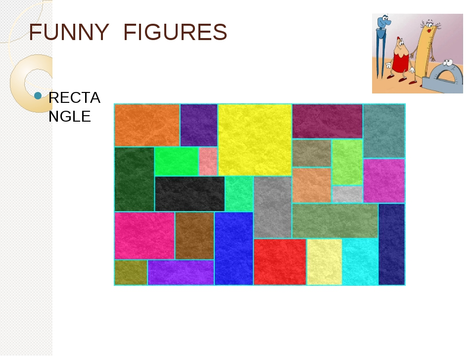 FUNNY FIGURES RECTANGLE