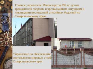 Главное управление Министерства РФ по делам гражданской обороны и чрезвычайны