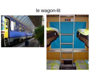 le wagon-lit