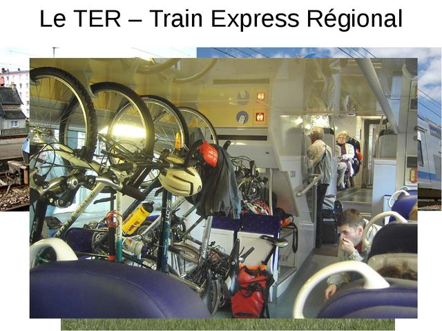 Le TER – Train Express Régional