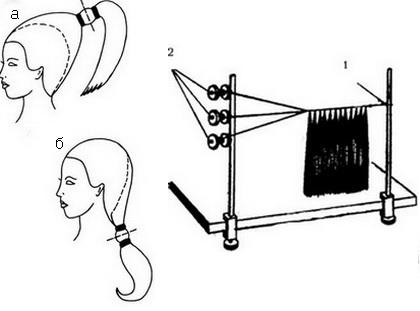 Сделать шиньон из своих волос своими руками видео