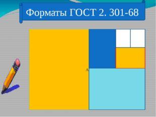 Форматы ГОСТ 2. 301-68 А