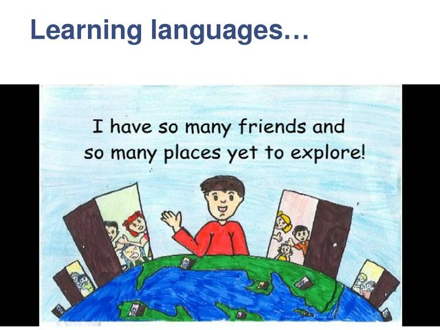 Learning languages…