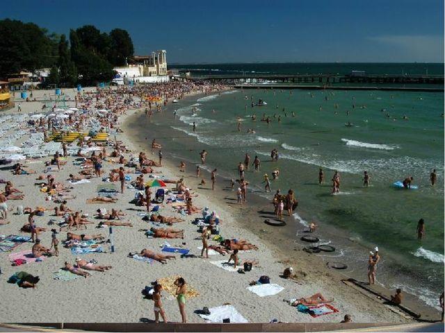 Одесса – крупный порт Потёмкинская лестница Памятник основательнице – Екатер...