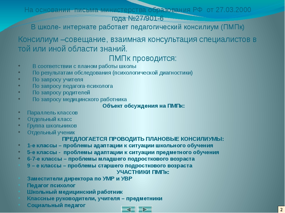 2 На основании письма министерства образования РФ от 27.03.2000 года №27/901-...