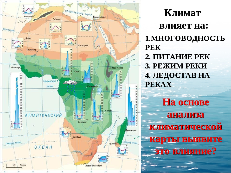 1.МНОГОВОДНОСТЬ РЕК 2. ПИТАНИЕ РЕК 3. РЕЖИМ РЕКИ 4. ЛЕДОСТАВ НА РЕКАХ Климат...