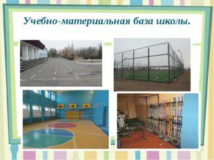Учебно-материальная база школы.