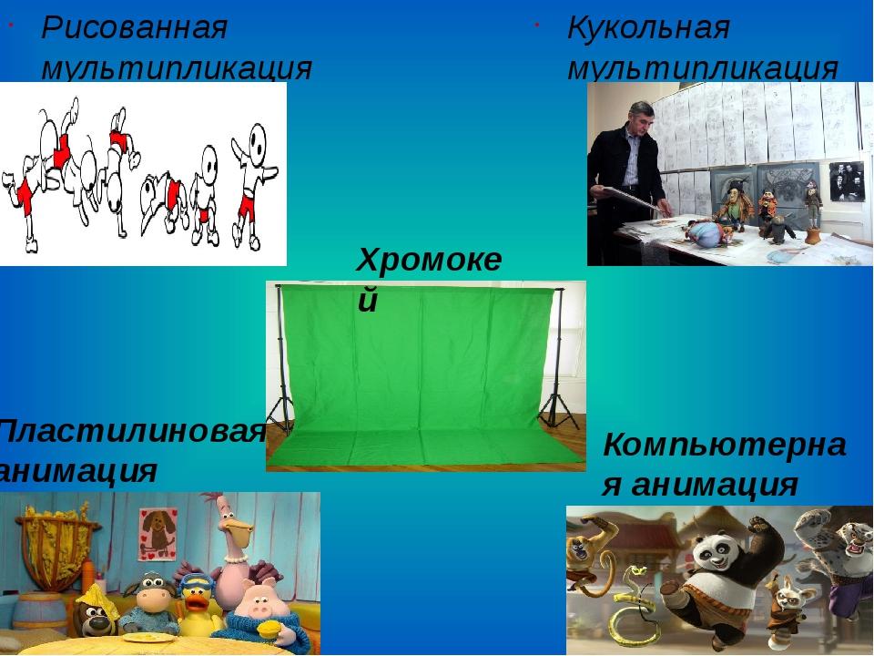 Рисованная мультипликация Кукольная мультипликация Пластилиновая анимация Ко...