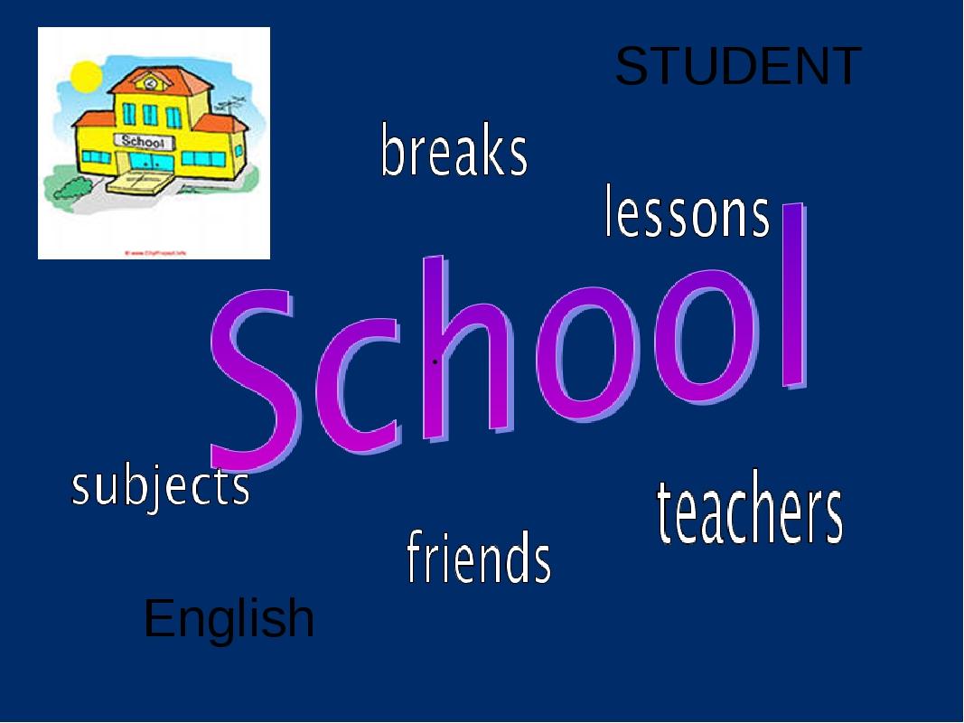 • English STUDENT